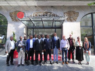 Délégation de la Cour Constitutionnelle congolaise