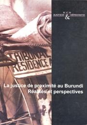 Burundi - Projet 2006-2008