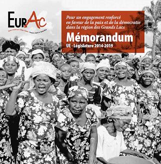Novembre 2014 – Bruxelles : Mémorandum  EurAC : « UE – Législature 2014-2019 »