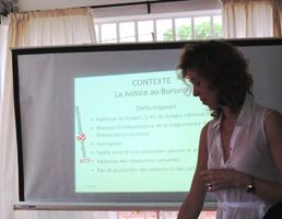Février 2015 – Burundi : Visite d'un groupe d'étudiants belges auprès de la Mission de RCN J&D à Bujumbura